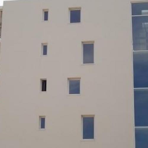 Vitrage d'immeuble